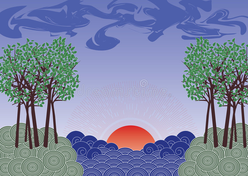 Download Nature stock vector. Image of backgrounds, abstract, nature - 2323559