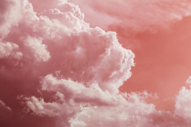Nature abstract picture. Nature art abstract picture of clouds royalty free stock photo