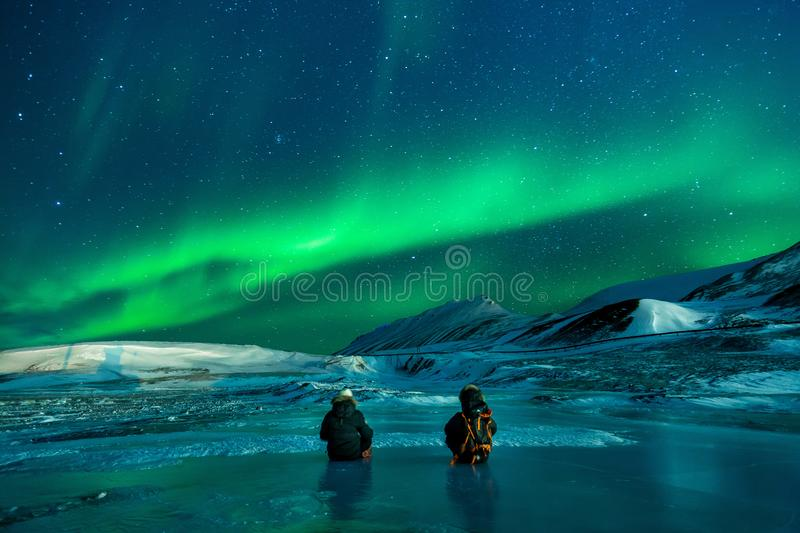 Nature, Atmosphere, Sky, Aurora royalty free stock photo