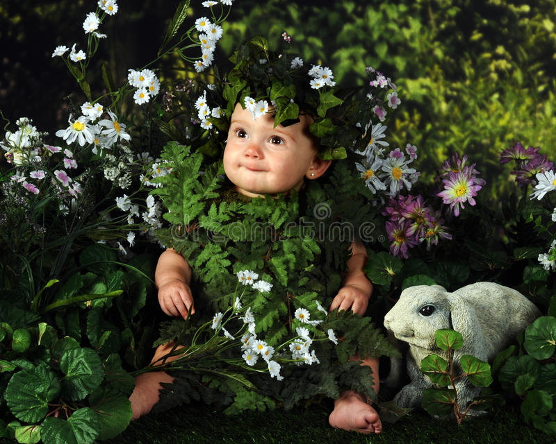 Nature Baby Stock Image