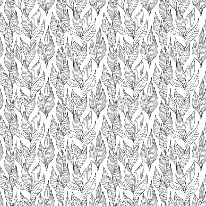 Download Nature background stock vector. Image of seamless, drawing - 26878464