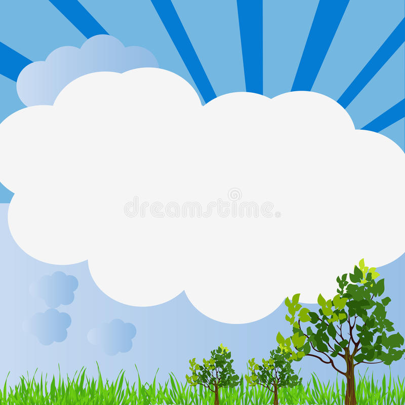 Nature Frame Royalty Free Stock Images