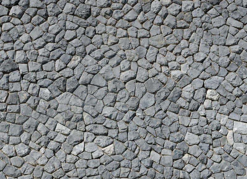 Nature background of gray stone wall texture stock image