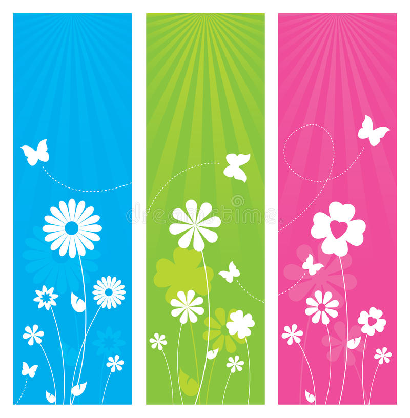 Download Nature Banners stock vector. Image of design, cyan, fresh - 30465724