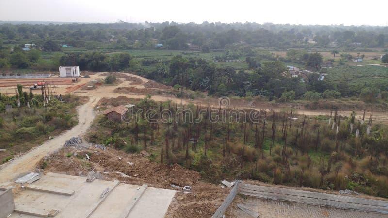 IQ city campus , durgapur , west bengal. Nature beauty of west bengal , durgapur , iq city campus stock photo