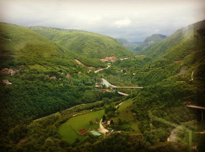 Nature bosnienne image stock