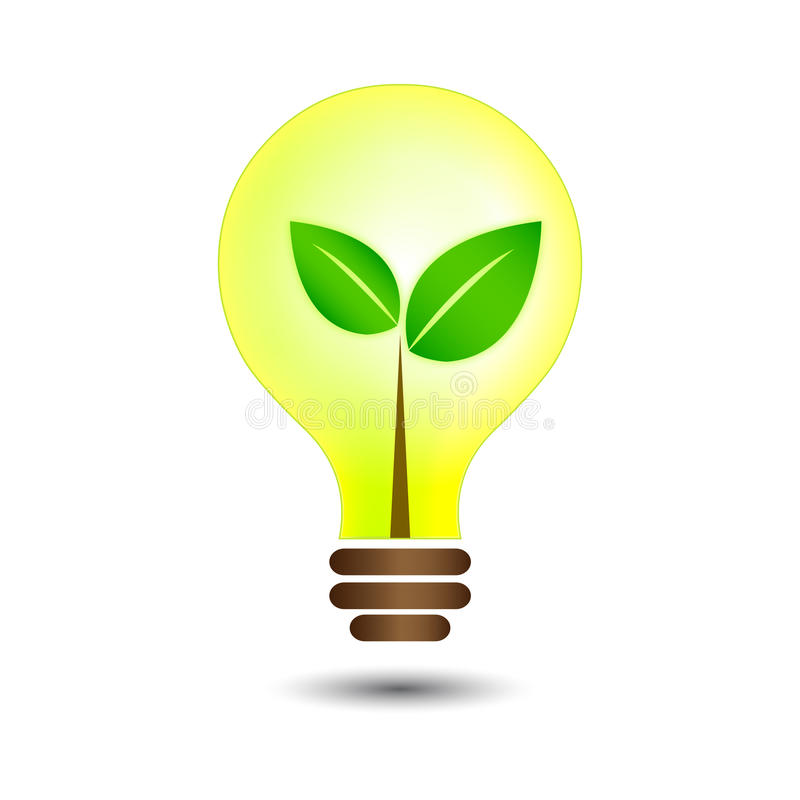 Download Nature bulb stock vector. Image of ecological, environmental - 22871343