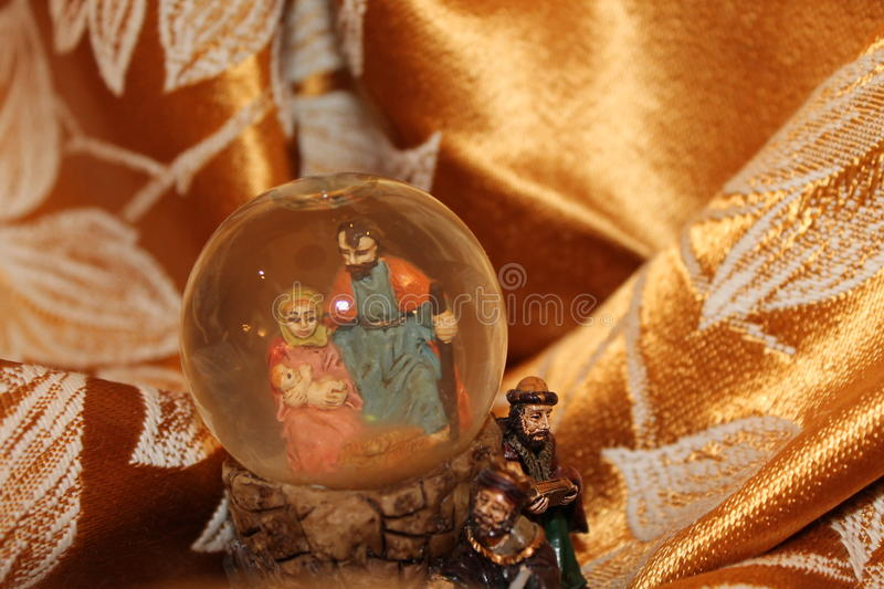 Nature creates the Nativity - Christmas - Small Nativities from all over the World royalty free stock photography