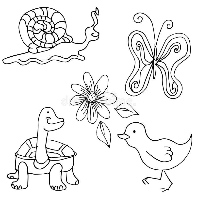Download Nature Creatures stock vector. Illustration of creature - 32155892