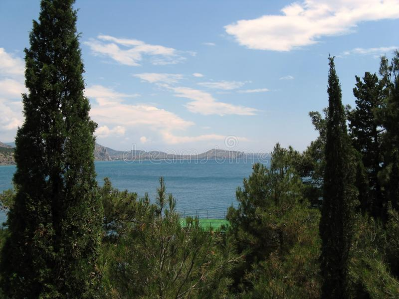The nature of Crimea royalty free stock photography