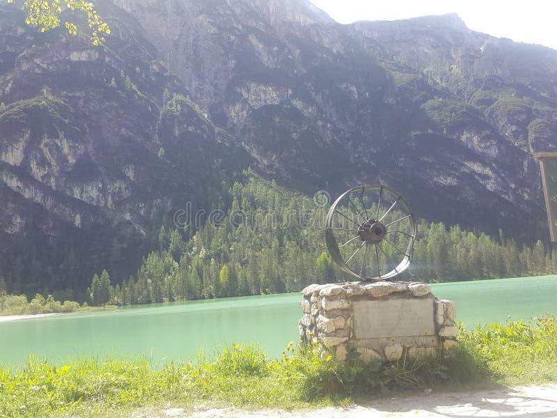 Nature de l'Italie de lac belle images libres de droits