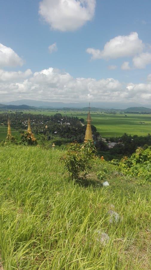 Nature de Myanmar images stock