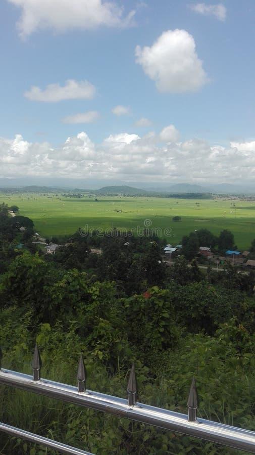 Nature de Myanmar photo stock