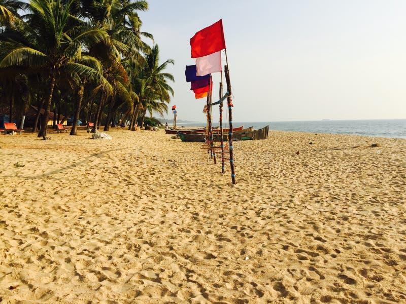 Nature de navire amiral de ralley de plage si photos libres de droits