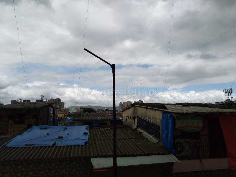 Nature de nuage image libre de droits