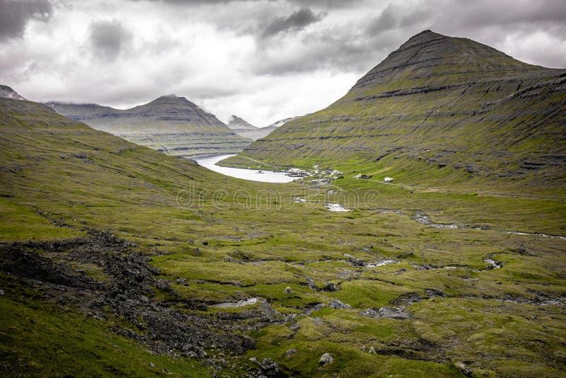 Nature de paysage sur les Iles F?ro?, photo libre de droits