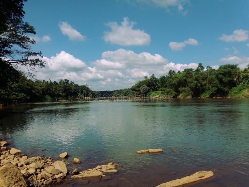 Nature de rivière de Kalani image stock