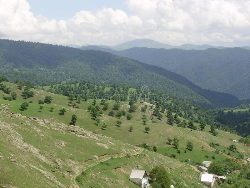 Nature des montagnes image libre de droits