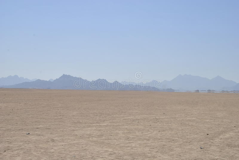 Nature, desert, mirage, calm, dry, beautiful royalty free stock photos