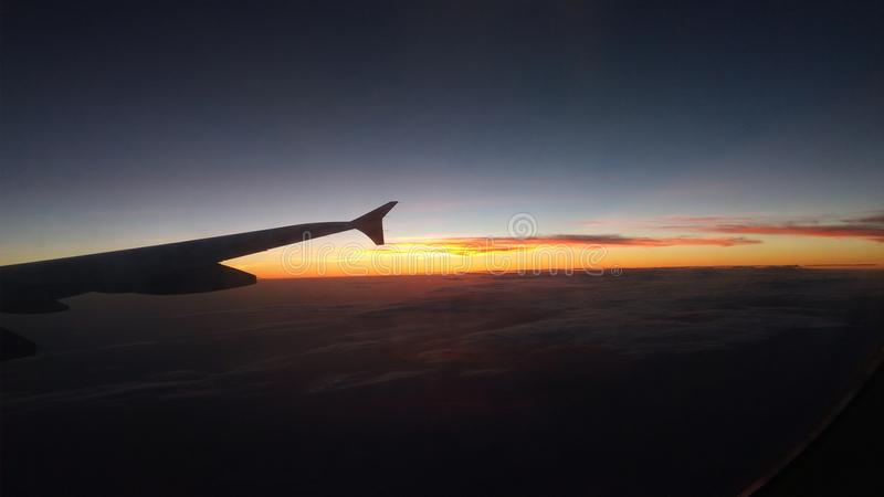 Nature du ciel image stock