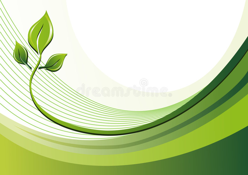 Download Nature Eco Background And Leaves Stock Vector - Image: 7845885