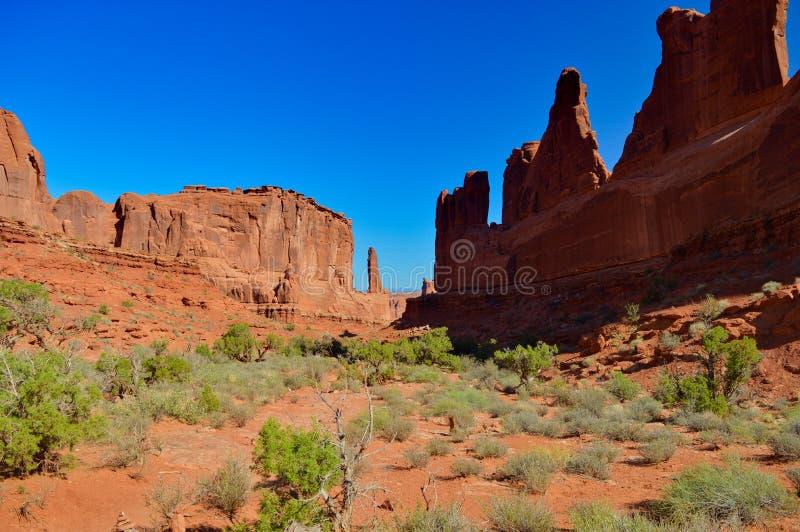Nature en parc national de voûtes photographie stock libre de droits