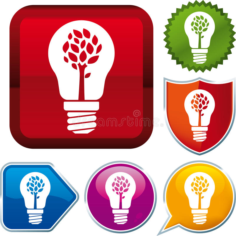 Download Nature energy icon stock vector. Image of icon, illustration - 26995501