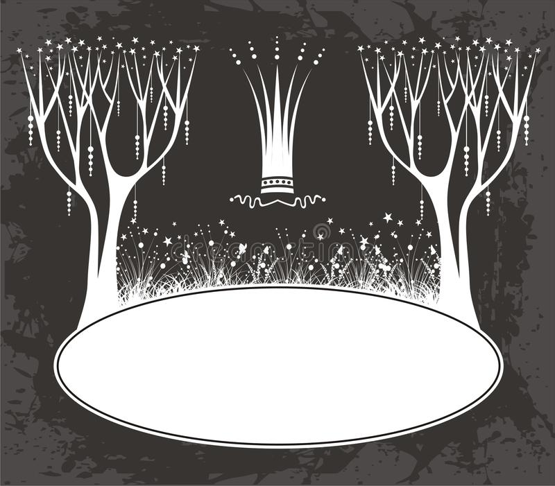 Download Nature frame stock vector. Illustration of nature, tree - 23111210