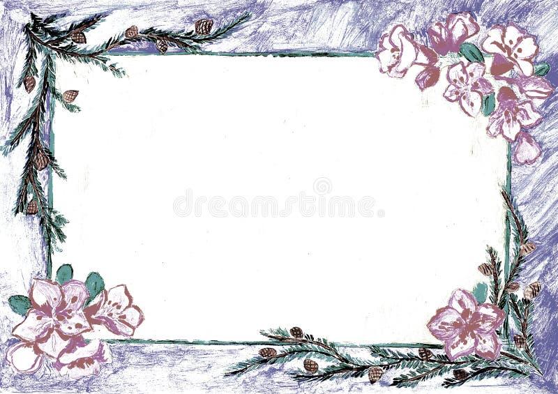 Nature frames stock illustration. Illustration of artistic - 65763365