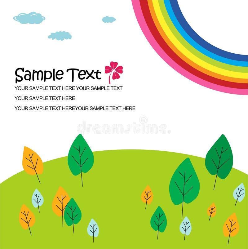 Download Nature garden background stock vector. Illustration of kids - 14383698