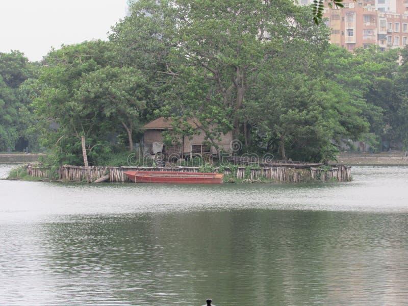 Nature gift beautiful senary of lake stock photography