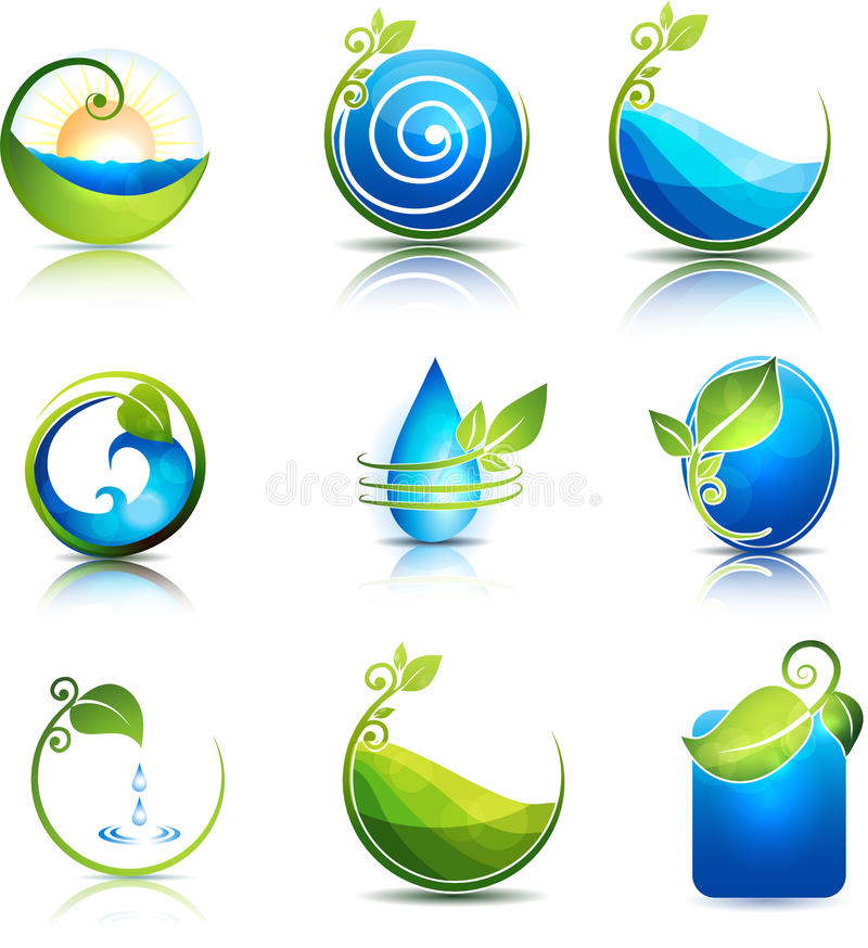 Nature healing stock illustration