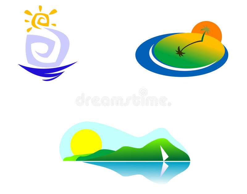 Download Nature icons stock vector. Image of beauty, insignia - 11056745