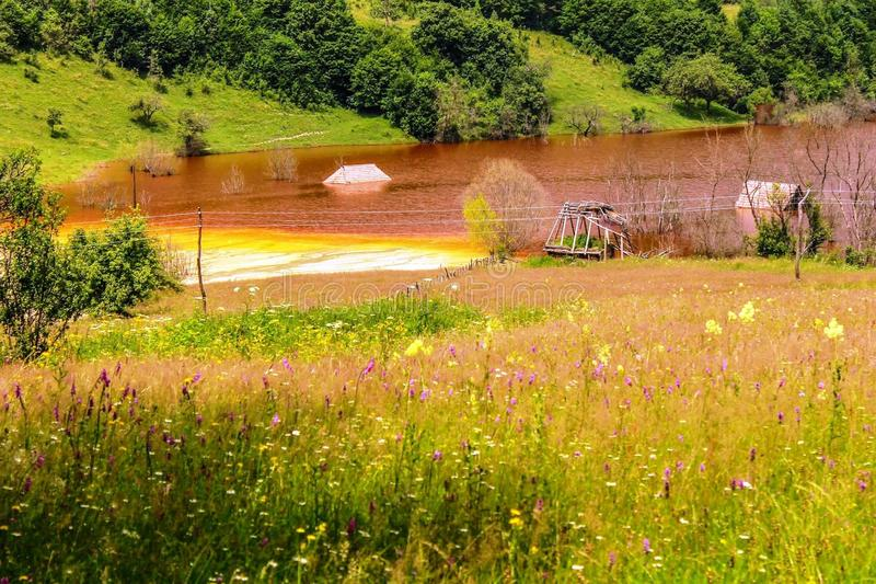 Nature is the art of God. Transylvania! stock photo