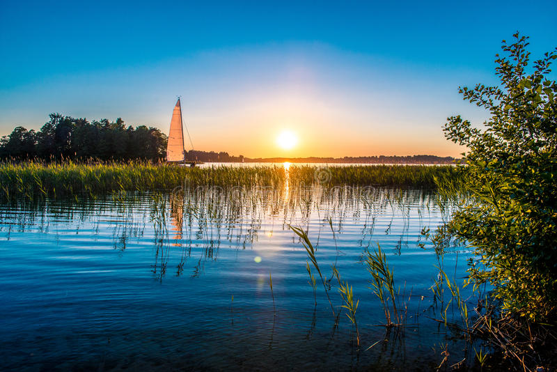 Nature lake stock photos
