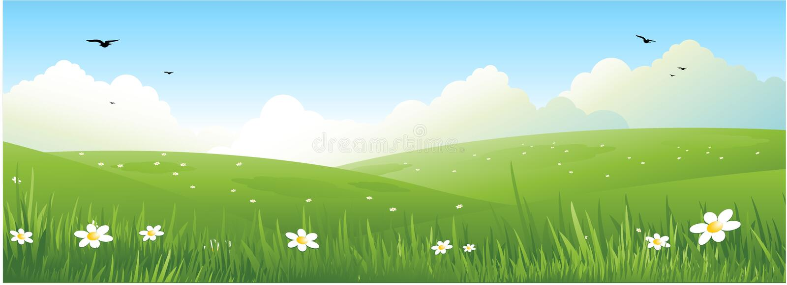 Nature landscape background royalty free stock images