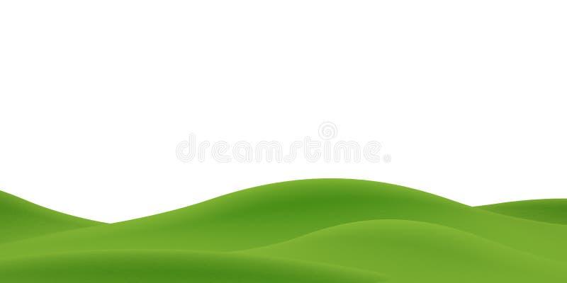 Mountain background. White background. 3D illustration. Nature landscape. Nature background. Beautiful sky. Countryside landscape. Beautiful clouds. Huge vector illustration