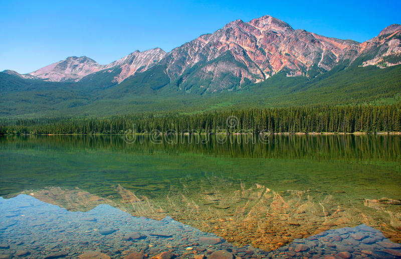 Nature landscape in British Columbia, Canada royalty free stock image