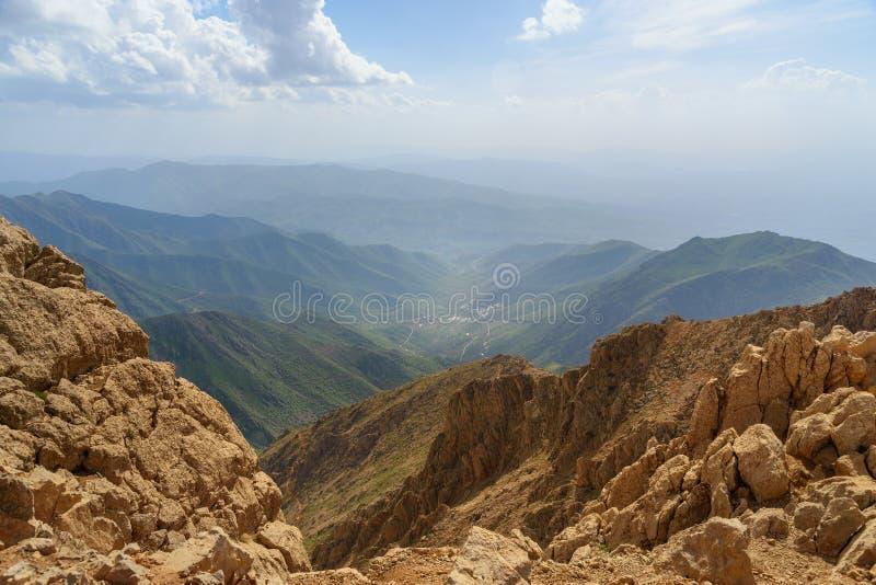 Nature landscape in Zagros Mountain. Kermanshah Province, Iran. royalty free stock image