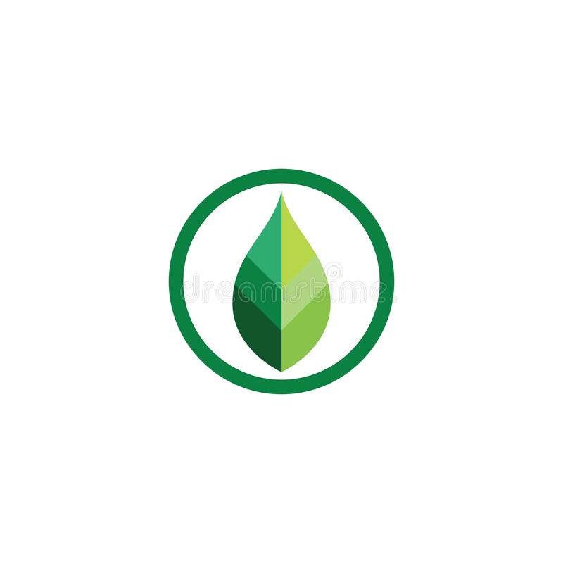 Nature leaf logo and symbol template. Nature leaf logo and symbol template, balance, bio, biological, brand, branding, business, care, company, concept, eco stock photography