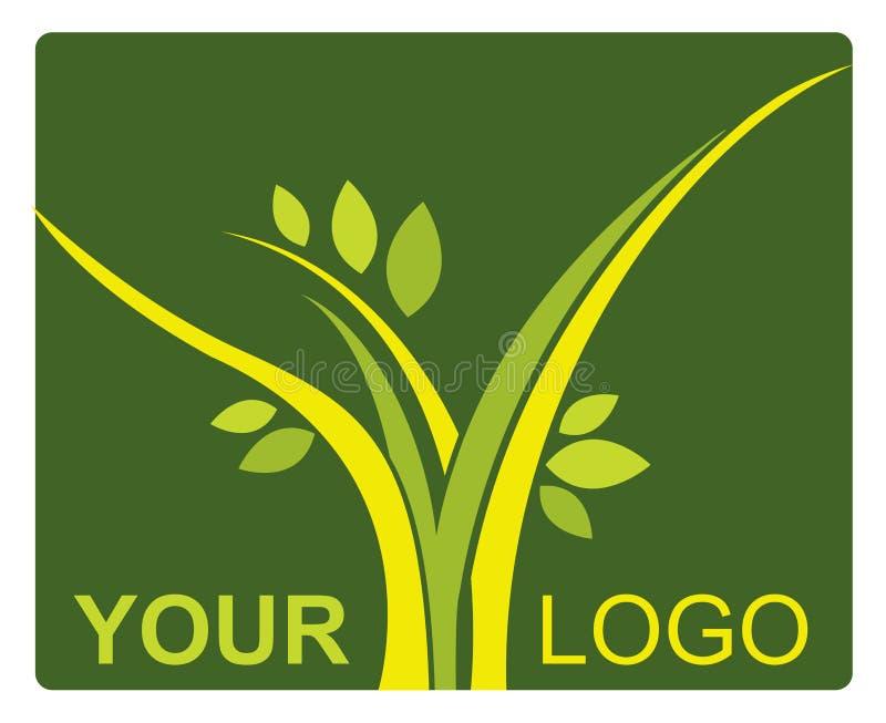 Nature logo royalty free illustration