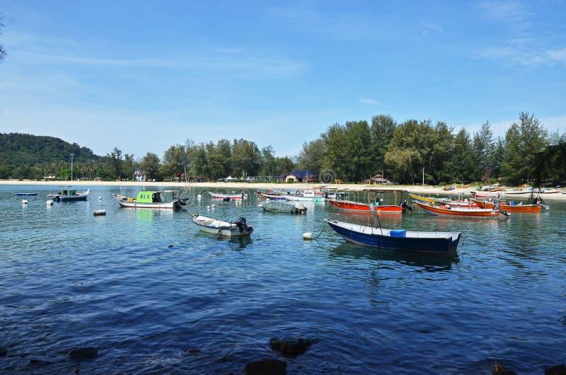 Nature Marina. Located at Telok Kalong, Kemaman, Terengganu, Malaysia stock photo