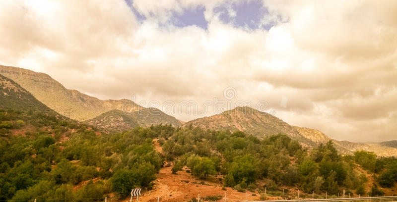 Nature marocaine images stock