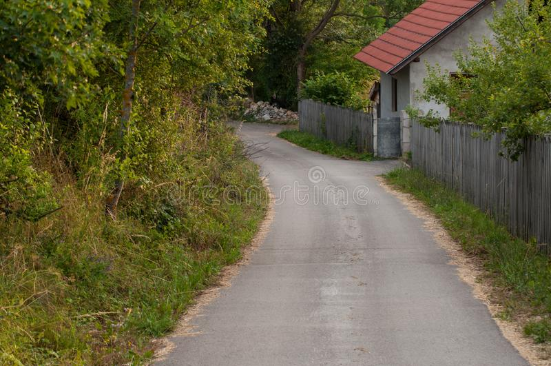 Nature in the mountain. Mountain  roads royalty free stock photos
