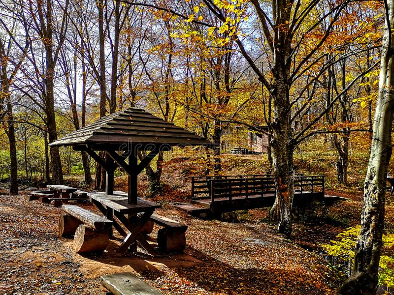 Nature park Grza near the Paracin, Serbia. stock photos