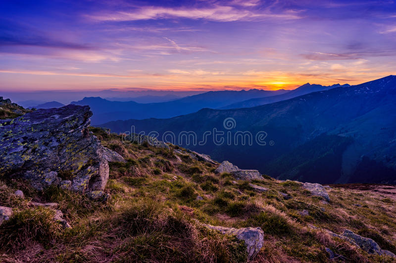 Nature Photography Of Mountain Top Capturing The Golden Hour Free Public Domain Cc0 Image