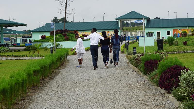 Port Harcourt pleasure park. Nature Picture so beautiful in Africa royalty free stock images