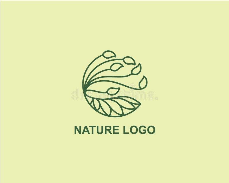 Nature Plant logo design concept, Agriculture Business logo design template. Nature Plant logo design concept, Agriculture Business logo design vector vector illustration