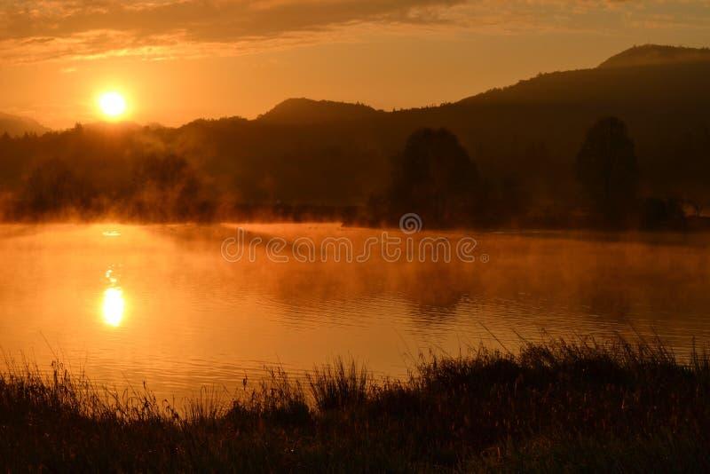 Nature, Reflection, Sunrise, Dawn stock images