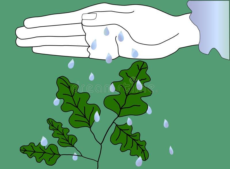 Nature sûre illustration stock